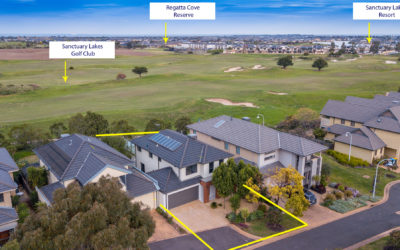 Greg Norman Drive – Drone Photography