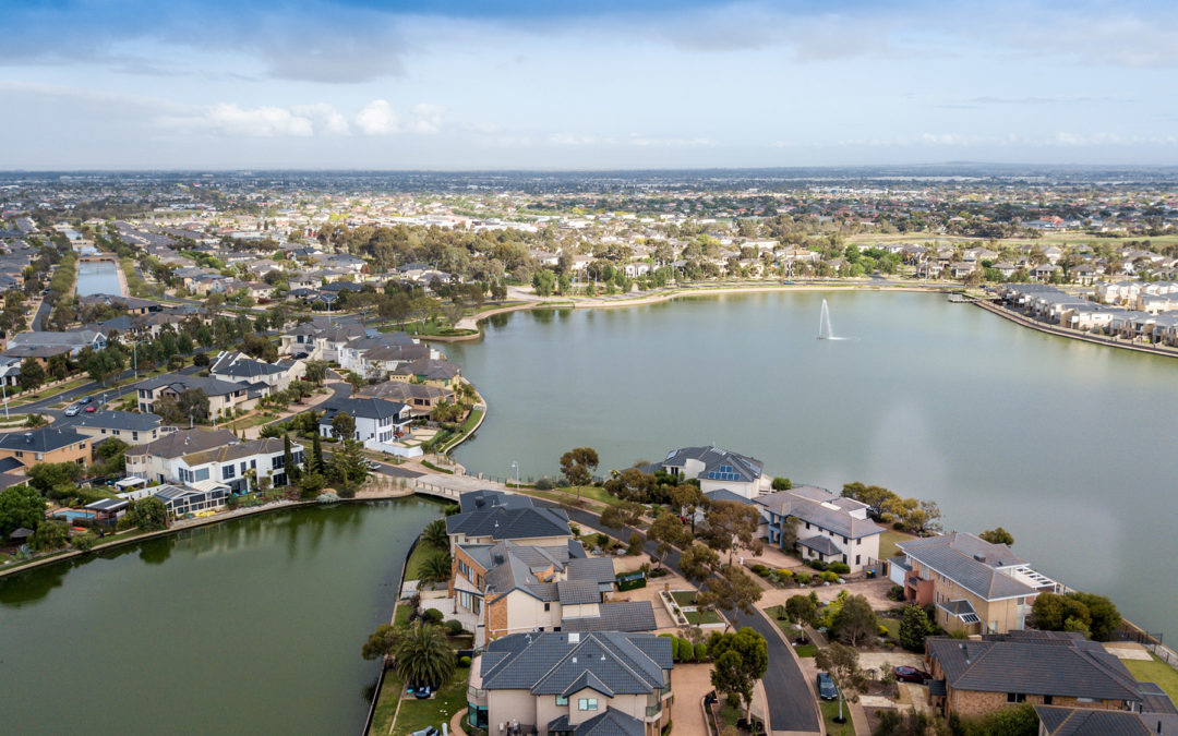 the real estate drone photography
